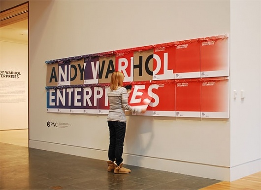 Designspiration — Indianapolis Museum of Art Title Graphic and Poster - FPO: For Print Only