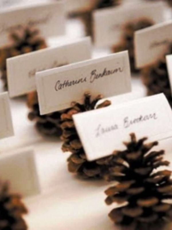 130 Pine Cones For Wedding Decor