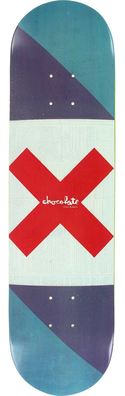 Chocolate Skateboards Chris Roberts Battle Flags Deck