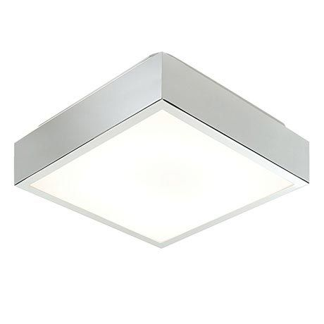 Saxby Cubita Small Square Bathroom Light Fitting