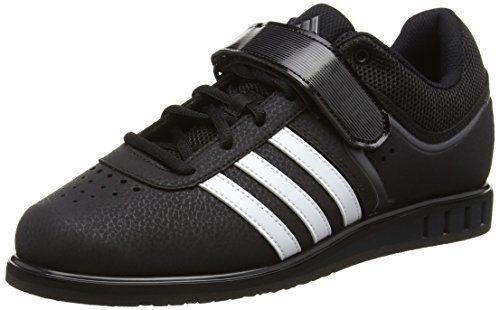 adidas  Powerlift2,  Unisex Erwachsene Hallenschuhe , Schwarz - Black (Core Black/White/Night Metal) - Größe: 42 - http://on-line-kaufen.de/adidas/42-eu-adidas-powerlift2-unisex-erwachsene