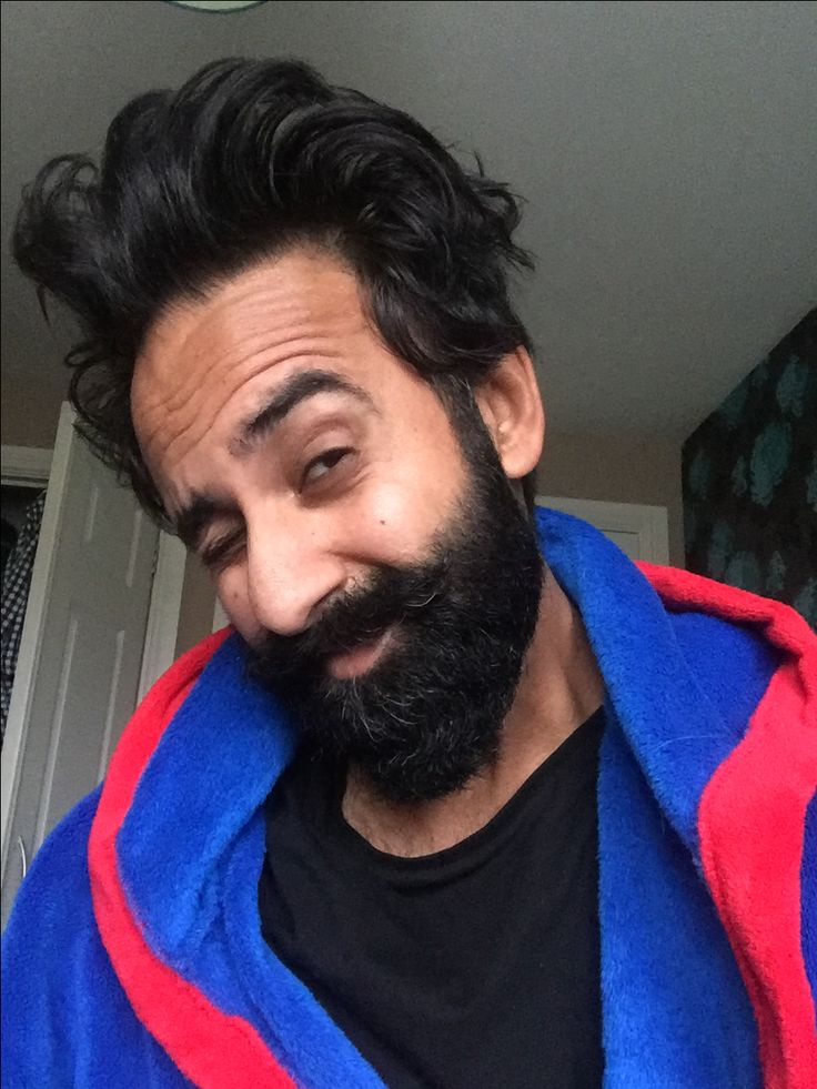 Bed hair and beard, if only I could actually style it like this...