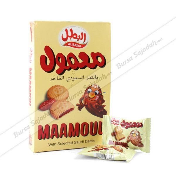 Al Batal Maamoul merupakan biskuit yang di dalamnya berisi kurma pilihan yang dihaluskan (seperti selai). Biskuit yang dikenal sebagai oleh-oleh haji favorit ini sangat pas untuk dijadikan camilan sehat & nikmat saat kumpul keluarga dan teman!