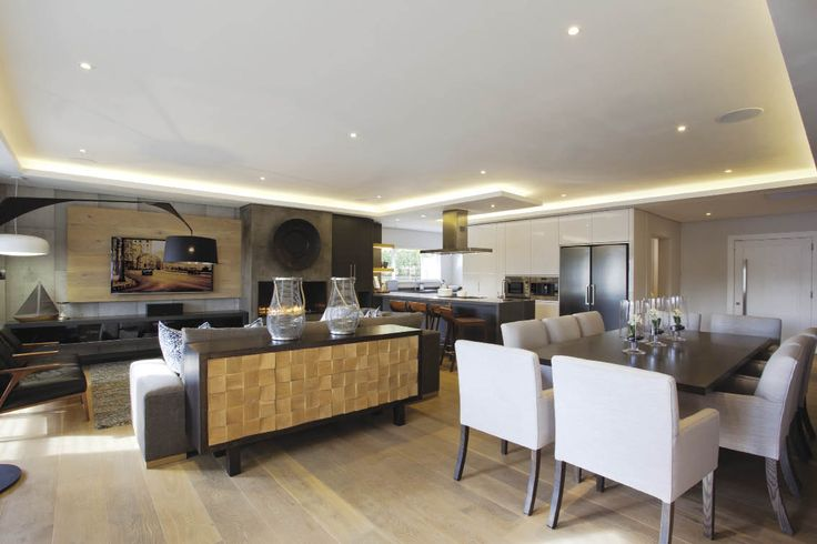 This home has a beautifully tailored interior, offering time out for the owners from their fast-paced lives.