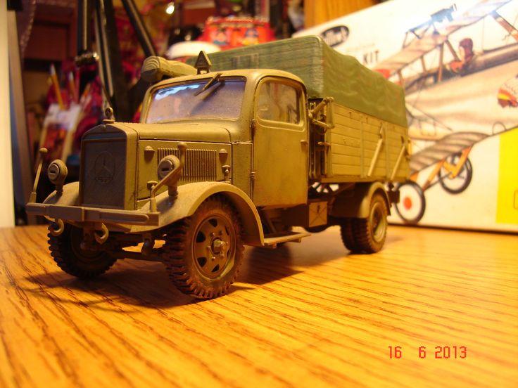 Camion liviano WWII, Maqueta de Italieri 1/32