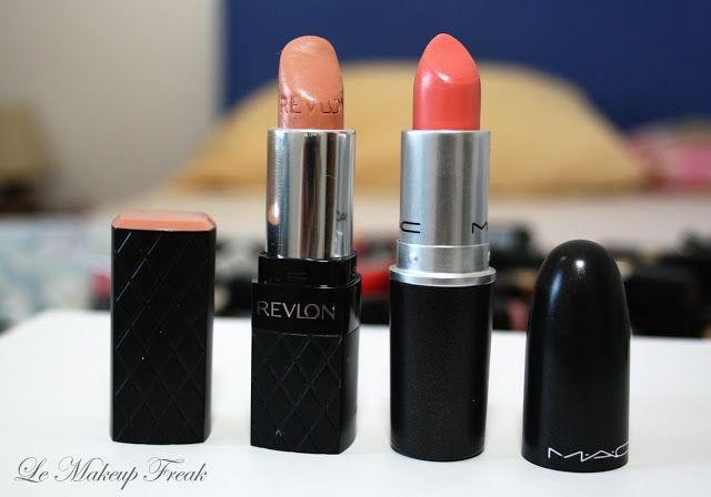 Revlon Soft Nude & MAC Coral Bliss