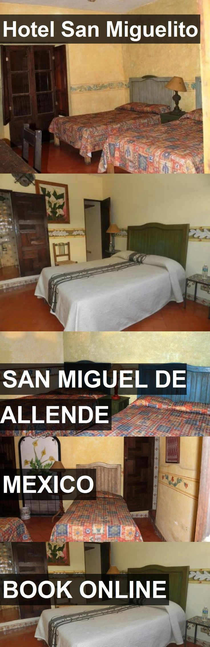 Hotel Hotel San Miguelito in San Miguel De Allende, Mexico. For more information, photos, reviews and best prices please follow the link. #Mexico #SanMiguelDeAllende #HotelSanMiguelito #hotel #travel #vacation