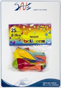Palloncini colorati assortiti