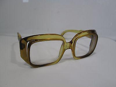 Vintage Christian Dior Amber Lucite Glasses Frames   eBay