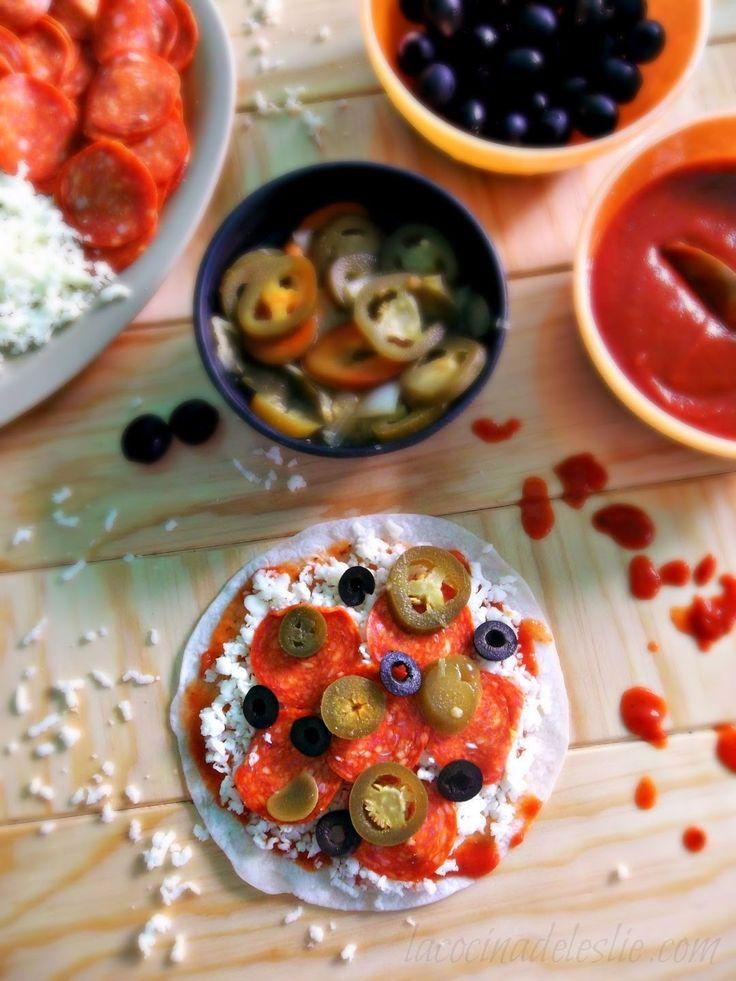 Pizzadillas (pizza quesadillas) #LunchBox ideas for #SundaySupper via ...