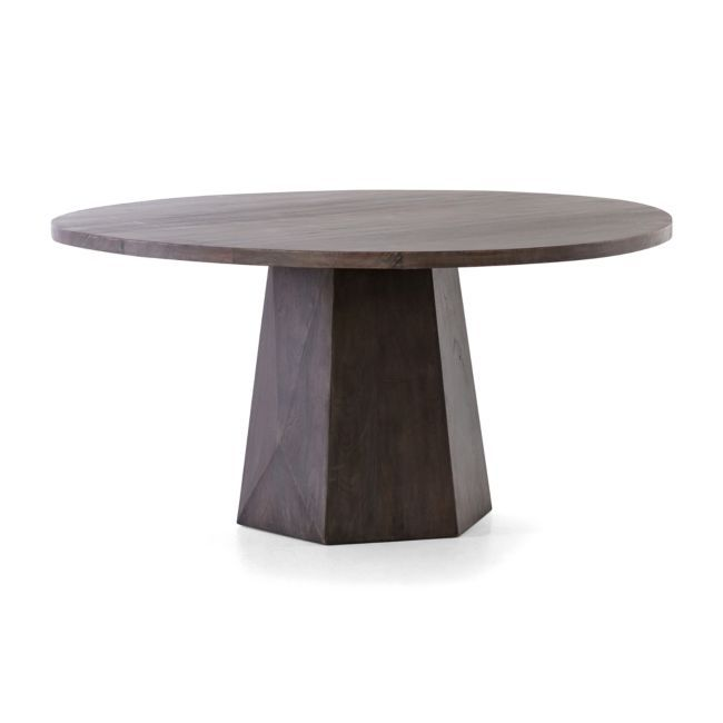 Kesling 60 Round Wood Dining Table Dining Table Round Wood