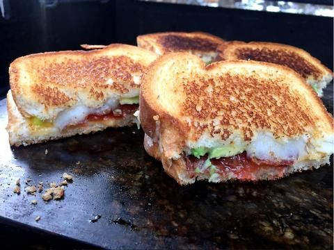 Grilled Cheese | Stone Cooking Like a Pro | Primal Stone