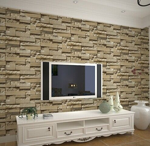 Pin By Parag Divekar On Tv Stone Cladding Living Room Tv