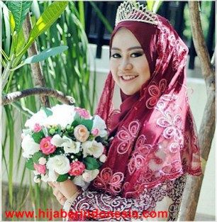 Tutorial Hijab Untuk Pengantin