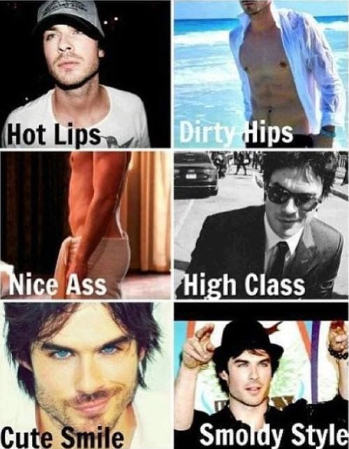 Ian Somerhalder: for you @Michelle Flynn Dean Beauchamp