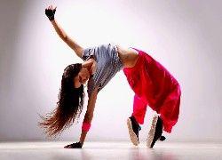 Dziewczyna, Taniec, Nowoczesny