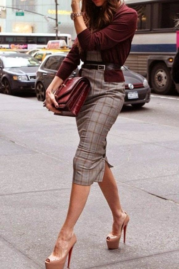 Stylish Outfit Ideas With A Pencil Skirt