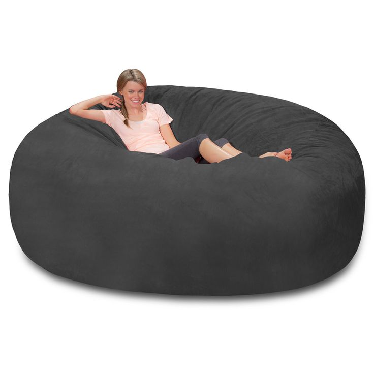 best 25 huge bean bag chair ideas on pinterest huge. Black Bedroom Furniture Sets. Home Design Ideas