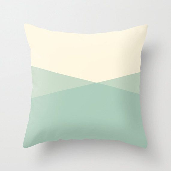 Abstract Ocean Throw Pillow Cover Seafoam Pillow by LilyandJude, $40.00 Home - Aqua, Mint ...