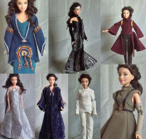 Padme Amidala Star Wars Outfits for Barbie