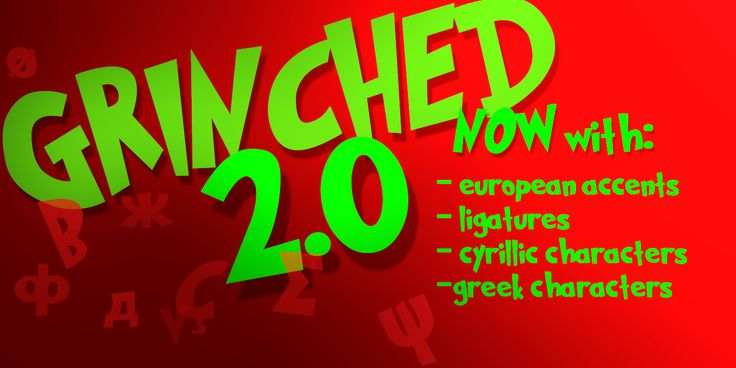 Grinched 2.0 Font · 1001 Fonts