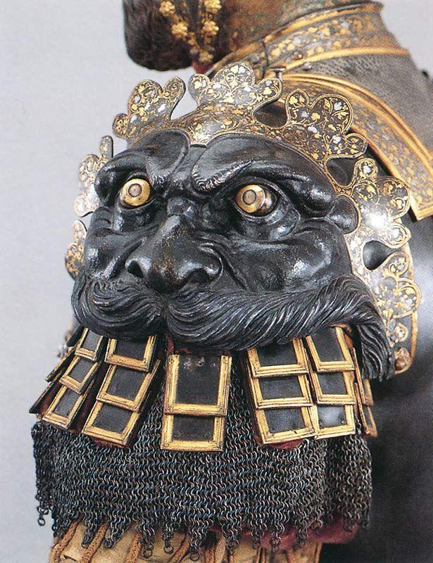 "Bartolomeo Campi - Armadura de parada ""alla romana"" que perteneció al emperador Carlos V - Real Armería, Madrid"