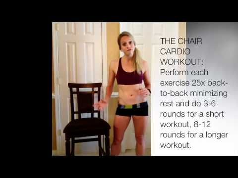 How To Get A Workout When Injured—This is awesome! Got my heart rate up to 140 (did 10 rounds and replaced the ab rocker with weighted leg lifts) if you're injured, don't let that be an excuse! get to work people #ChairWorkout