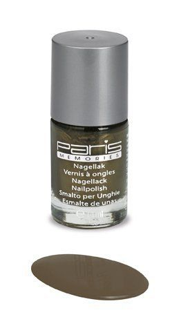 olijfgroen metallic nagellak paris memories 297
