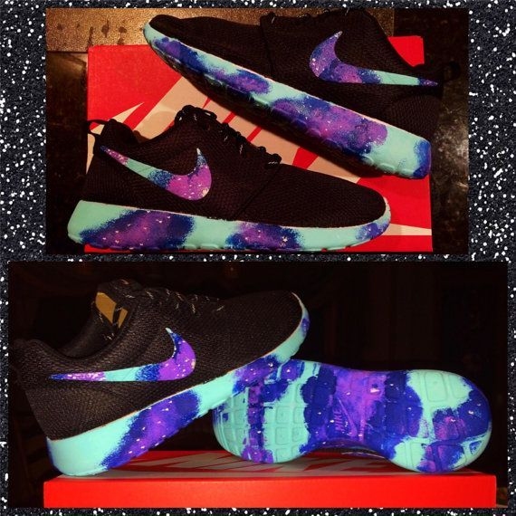 Women's Custom Nike Roshe Full Galaxy Shoe by ConverseCustomized