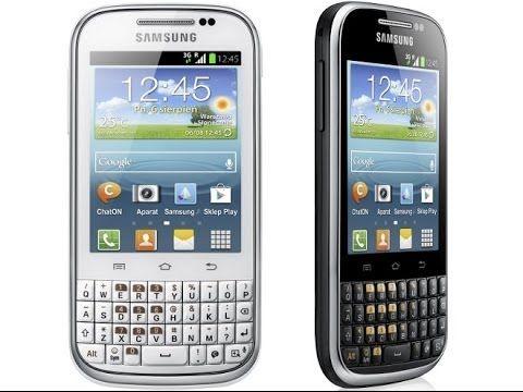 Review Samsung Galaxy Chat Harga dan Spesifikasi