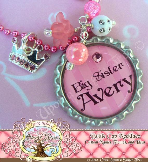 big sister necklace