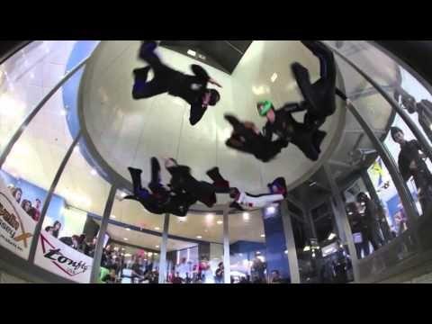 Cluj Napoca Indoor Skydiving - YouTube