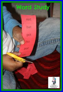A Kindergarten Smorgasboard of Word Study