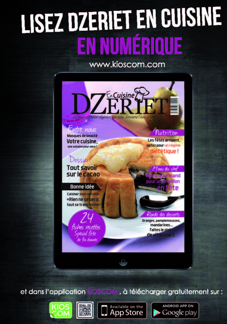 ne ratez plus aucun numro de dzeriet en cuisine avec wwwkioscomcom