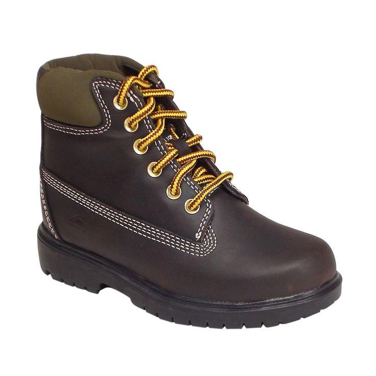 Deer Stags Boys' Mak 2 Hiking Boots, Size: medium (13.5), Brown