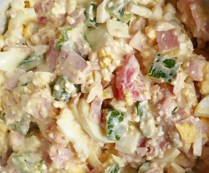 Rezept Eiersalat (Low Carb) von lunalabradoodle - Rezept der Kategorie Vorspeisen/Salate