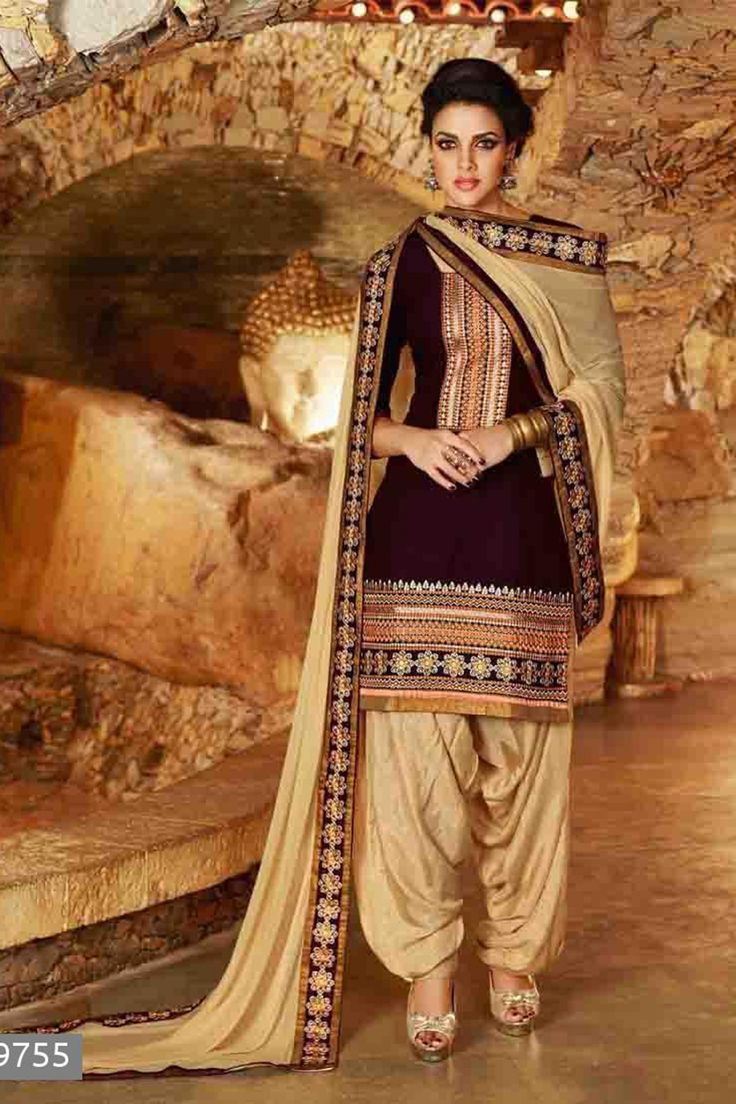Violet Cotton Salwar Kameez with Embroidered and Lace Work - Z2336P29755-1 Checkout our latest casual suits @ http://zohraa.com/salwar-kameez/suits-dresses/casual.html #zohraa #salwar #kameez #onlineshop #womensfashion  #womenswear #look #diva #party #shopping #collection #online #beautiful #love #beauty  #glam #shoppingonline  #styles #stylish #model #fashionista #pretty #women #luxury #quality  #lifestyle #best #women #fashion #officewear #casualwear #casual