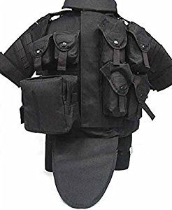 Tactical Vest Body Armor With Pouch