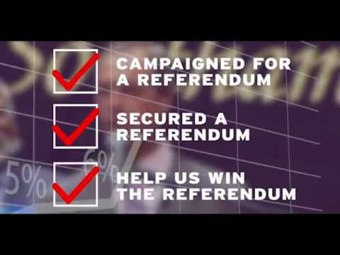 BREAKING NEWS : UKIP & The British Public Have Forced The Referendum