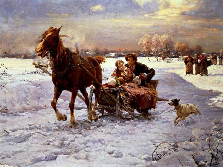 Д вчата пр кольна зима картинки