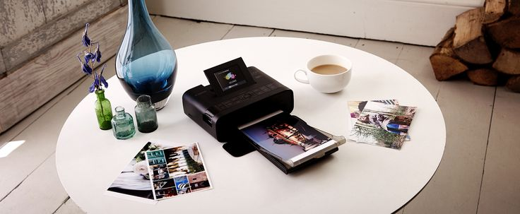 Photo printing Canon SELPHY CP1200 - Portable print
