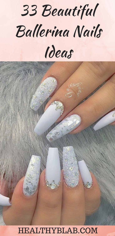 33 Beautiful Ballerina Nails Ideas
