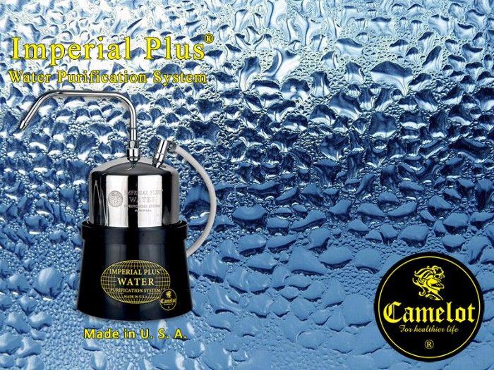Ένα από τα καλύτερα συστήματα καθαρισμού του νερού διεθνώς είναι το Imperial Plus της Camelot το οποίο κατασκευάζεται στην Αμερική. Το σύστημα Imperial Plus αφαιρεί αποτελεσματικά όλους τους επικίνδυνους χημικούς ρύπους και όλους τους επικίνδυνους παθογόνους μικροοργανισμούς όπως π.χ. βενζίνη, χλωροφόρμιο, φυτοφάρμακα, ίνες αμιάντου, μόλυβδο, υπολειμματικό χλώριο, κακή γεύση, μυρωδιά, θολότητα, βακτηρίδια κ.λ.π.