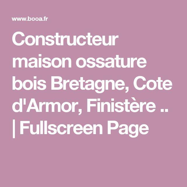 1000 idées sur le thème Constructeur Maison sur Pinterest  ~ Constructeurs Maisons Ossature Bois