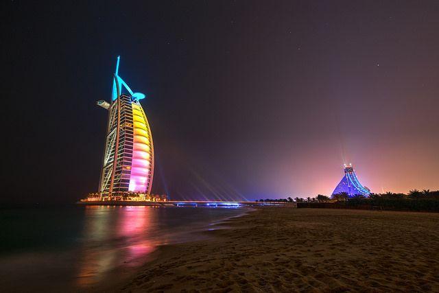 Burj Al Arab & Jumeirah  Beach  Hotel - Dubai | Flickr - Photo Sharing!