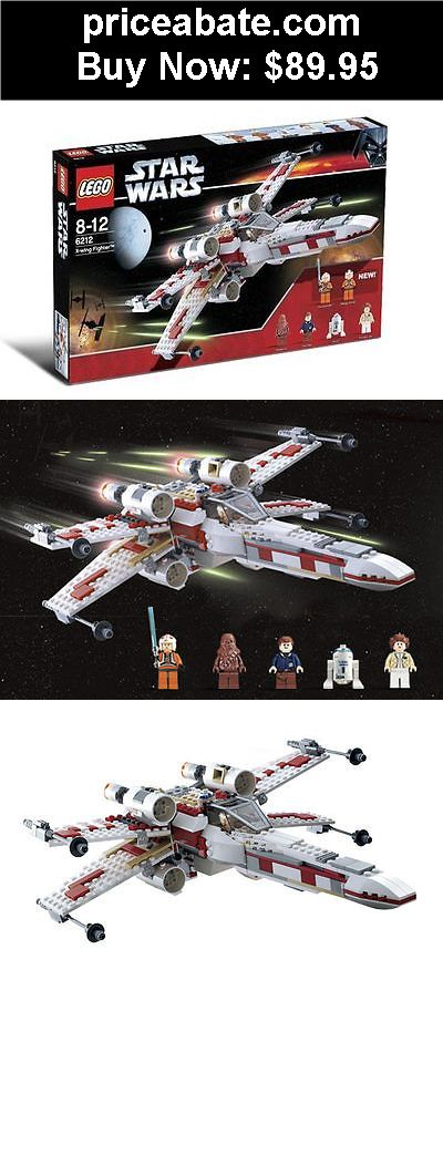 Toys: LEGO 6212 STAR WARS X-WING FIGHTER 6212 NIB 437 PIECES NEW SEALED! - BUY IT NOW ONLY $89.95
