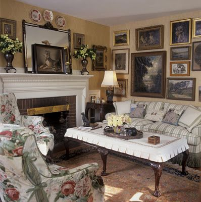 english cottage living room country casual pinterest