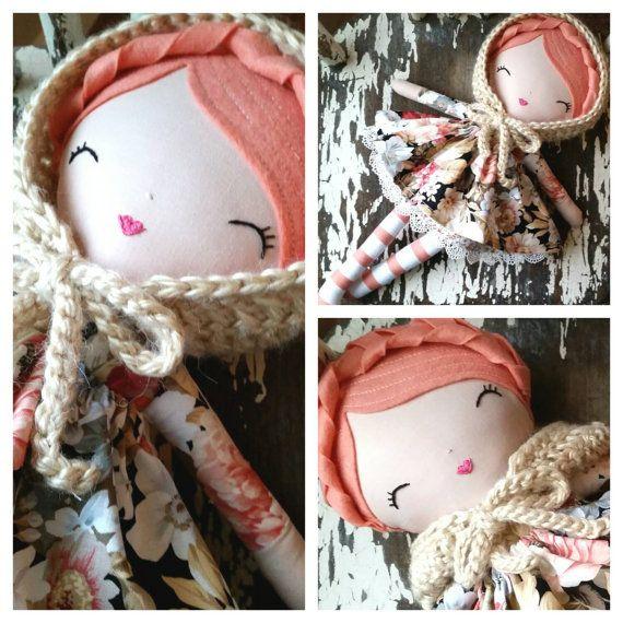 Vintage Inspired Heirloom Quality Dolls by SpunCandy, Custom Rag Doll, Bespoke Handmade Dolls   https://www.etsy.com/listing/227956354/beautiful-heirloom-quality-doll