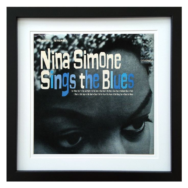 Nina Simone | Sings The Blues Album | ArtRockStore