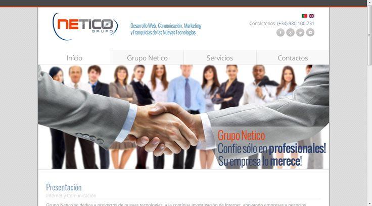 #disenoweb #disenografico #webmarketing grupo netico, herramientas web para empresas y negocios.